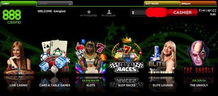 888casino Live Blackjack Games