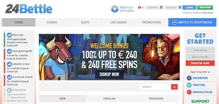 New Online Casino 24 Bettle
