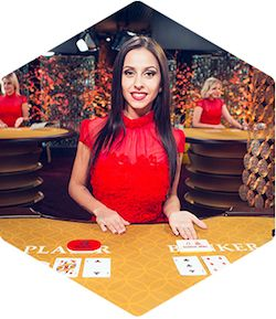 Live Casino Game Baccarat