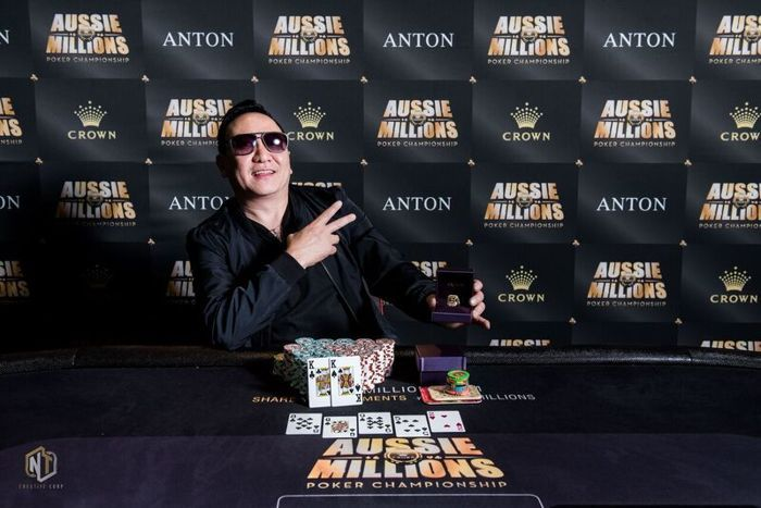 Michael Tchong Bests Mustapha Kanit to Win Aussie Millions Event #22 101