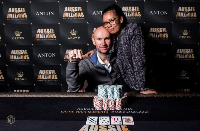 Daniel Laidlaw Bests a Star-Studded Final Table to Win Aussie Millions Event #25 101