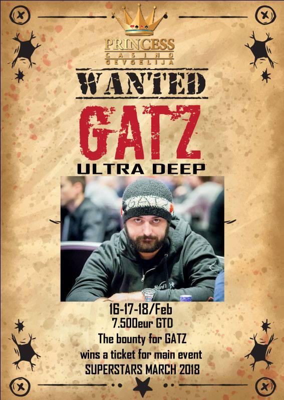 Έρχεται το Gatz Wanted 16-18 Φεβρουαρίου στο Princess 101