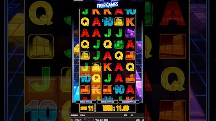 mobile casino games for real money Tetris Super jackpot Slot