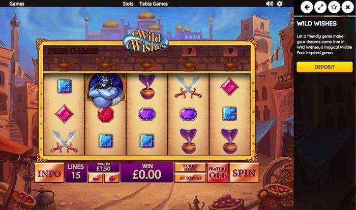 play casino games online free for real money Wild Wishes slot machine