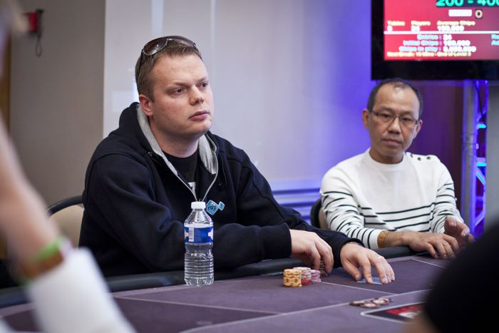 Finland's Feras Abid Leads After Day 1 of Kings of Tallinn Main Event 101