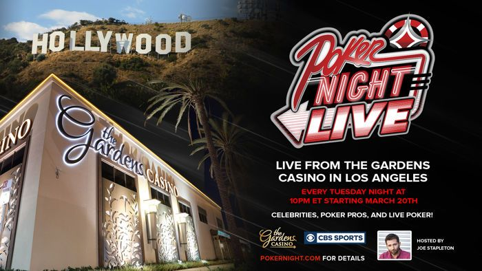 PNIA Introduces Poker Night LIVE: A Celebrity Poker & Talk Show 101