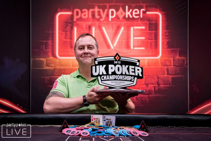 Chris Brice - partypoker LIVE UK Poker Championships £1,100 Main Event champion