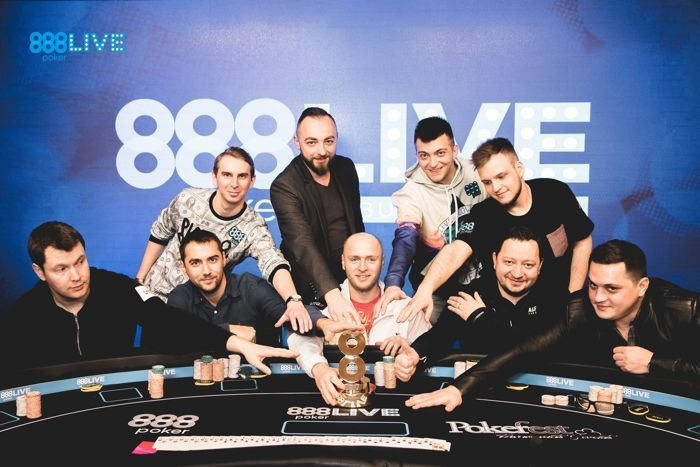 888poker LIVE Bucharest Main Event Final Table