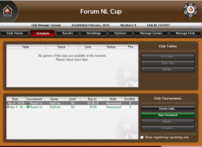 """Wil jij je nog kwalificeren voor de finale van de """"Forum Cup""""? Vanavond is de laatste kans... 101"""
