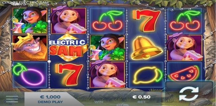 Electric Sam No Deposit Free Spins for Real Money Video Slots