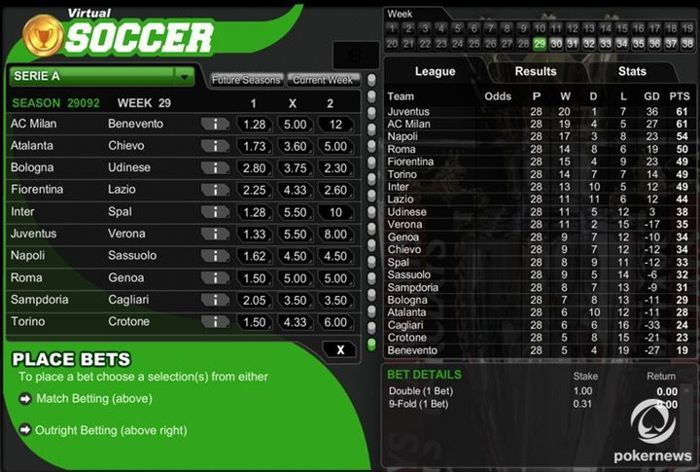 earn bitcoin games with Virtual Soccer Online