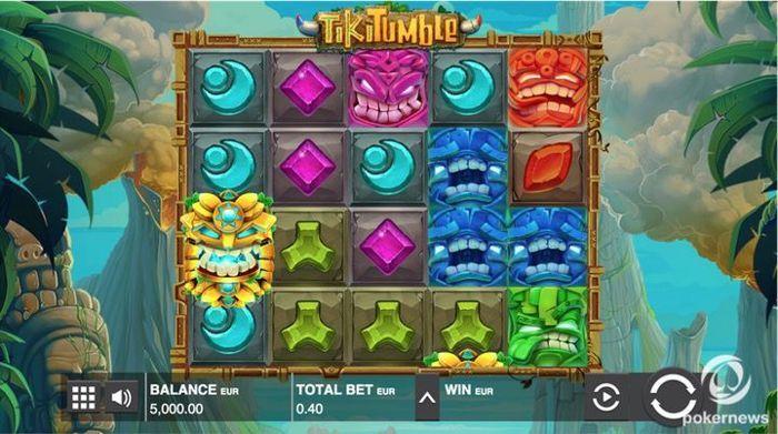 Tiki Tumble bitcoin money games