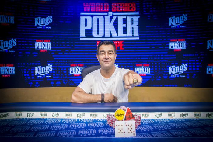 Hossein Ensan, WSOP-C Main Event Champion