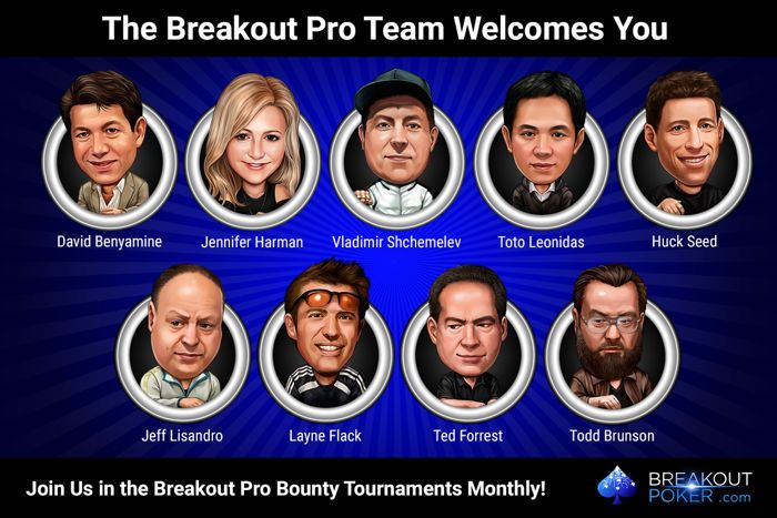 Play the Breakout Poker Pro Bounty Tournaments 101