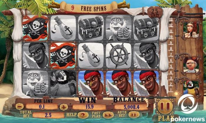 casino pirate slots free
