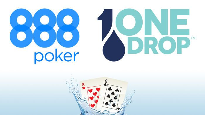 888poker & One Drop Partner to Offer World Water Day Online Tournament 101