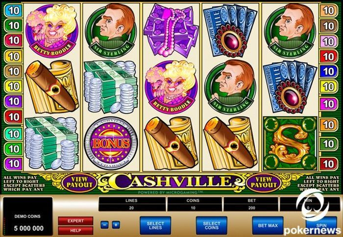 Free Video Slots Games Cashville