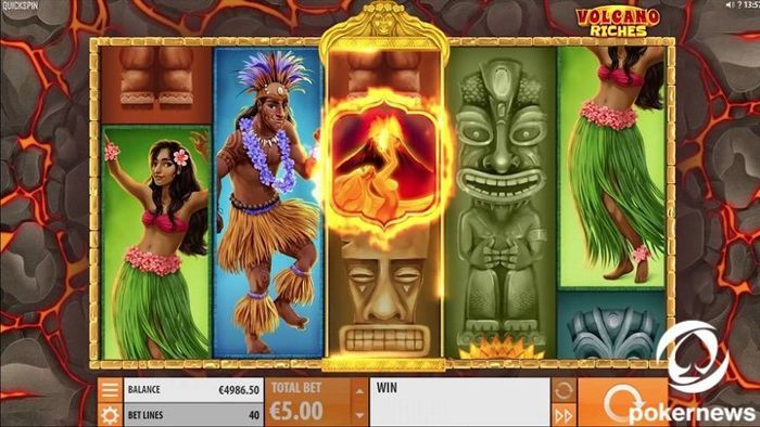 Volcano Riches free video slot games no download no registration