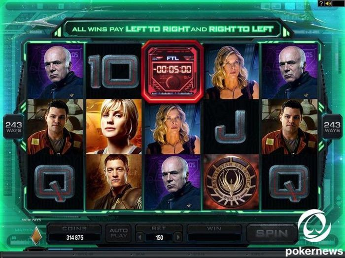 battlestar galactica free slot machines with free spins