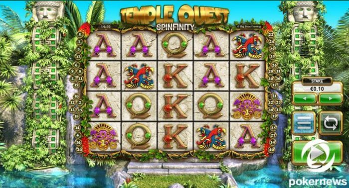 Temple Quest free slots to play for fun