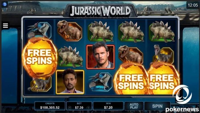 download free casino slot games for pc Jurassic World