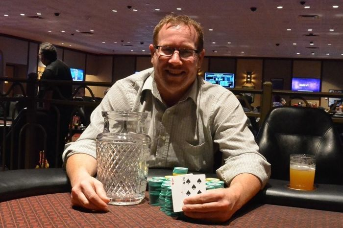 2017 Seneca Fall Poker Classic Champion Guy Klass