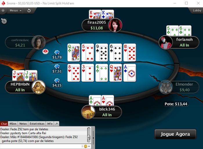 Split Hold'Em Já Está nas Mesas da PokerStars 101