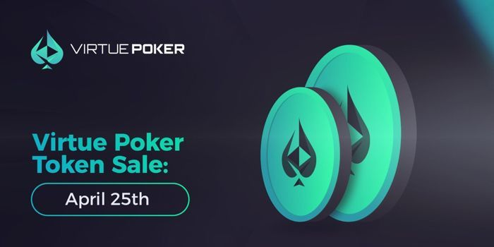 Blockchain-Powered Virtue Poker Announces Token Sale 101