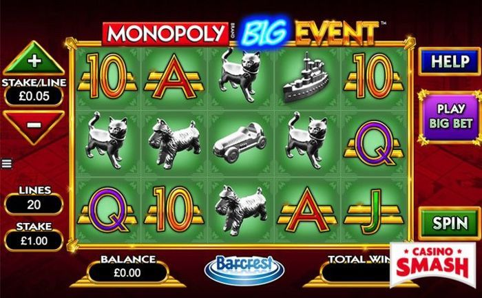 Monopoly Big Event Slot Machine Game