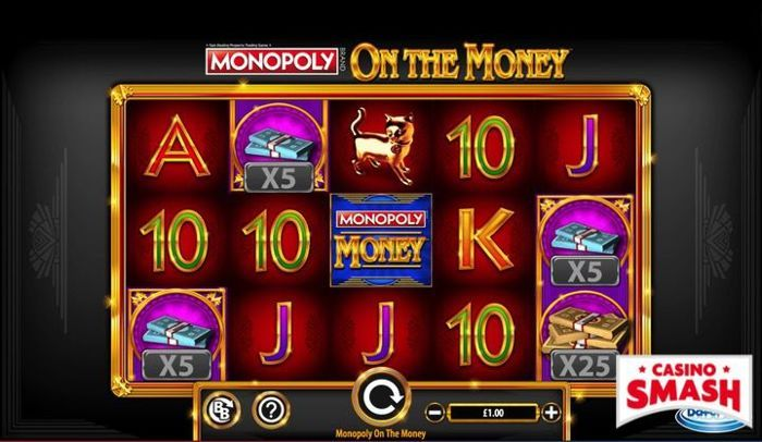 Monopoly on the Monet online video slots game