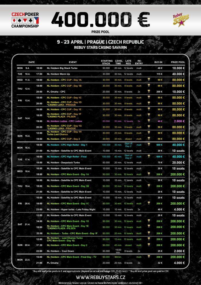 CPC Turnierkalender