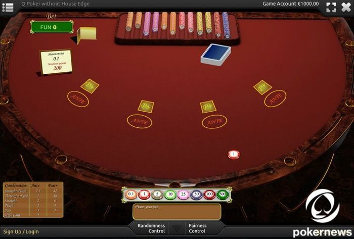 Q poker Casino Poker Games to Play for free and with zero house edge