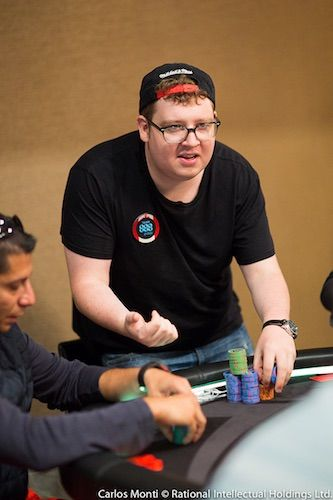 Hand Analyse: Parker Talbot über einen Final Table River Bluff 101