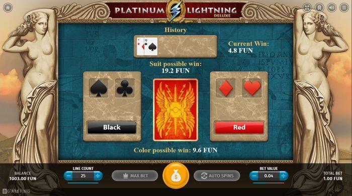 platinum lightning deluxe cards