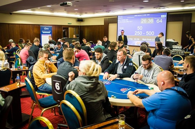Will Dorey Captures Chip Lead After MPNPT Bratislava Day 1b Triples 1a Field Size 101