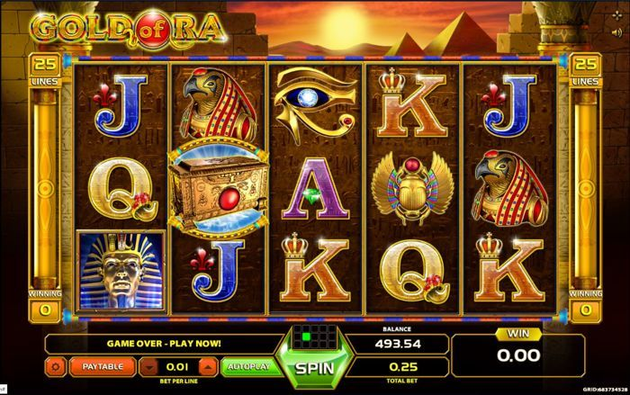 Gold of Ra slots game