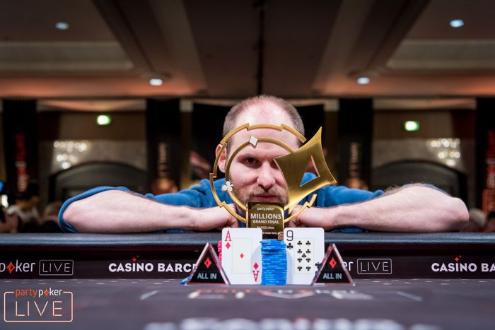Sam Greenwood wins the €50,000 Super High Roller