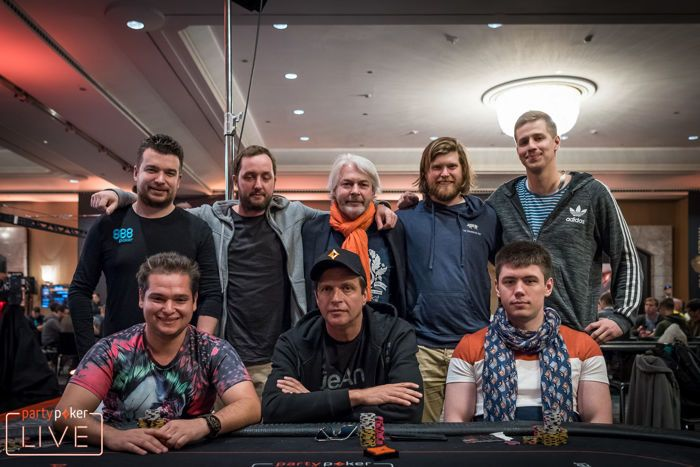 2018 partypoker LIVE MILLIONS Grand Final Barcelona €2,700 Warm Up Final Table