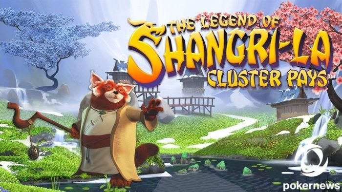 The legend of shangri la Cluster Pays Asian Slots