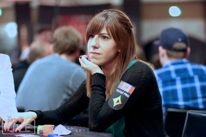 Kristen Bicknell at 2018 partypoker LIVE MILLIONS Grand Final Barcelona