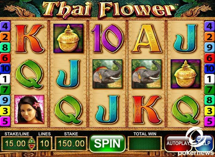 Asia-themed slots: Thai Flowers