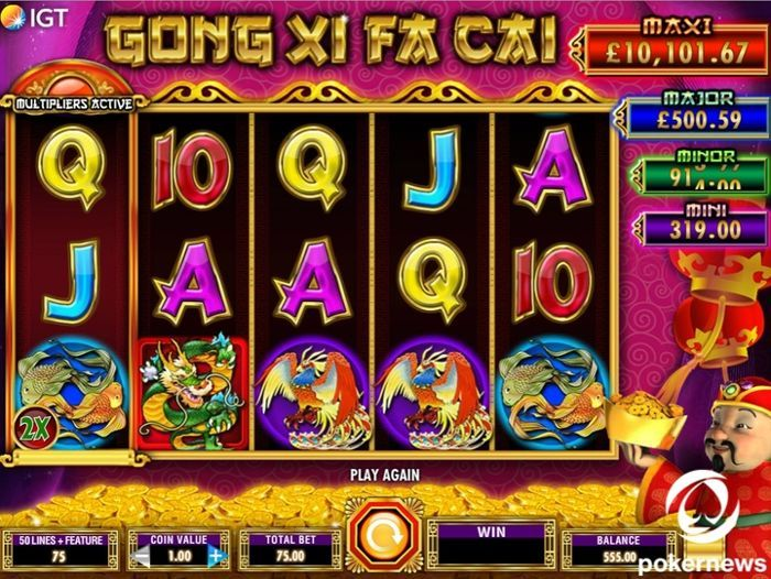Gong Xi Fa Cai Chinese slot machine game