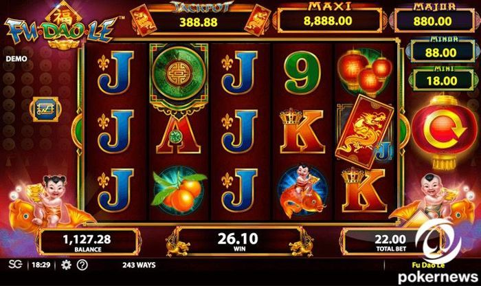 Fu Dao Le best Asian slots