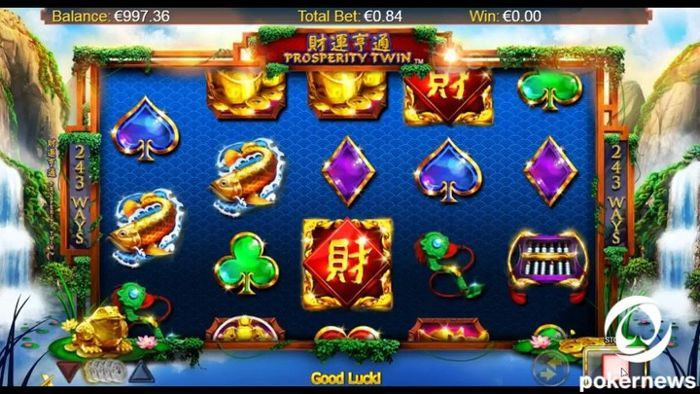 Prosperity Twin Asian slot machine game online