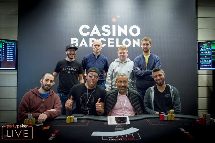 Mesa Final do partypoker MILLIONS Finale