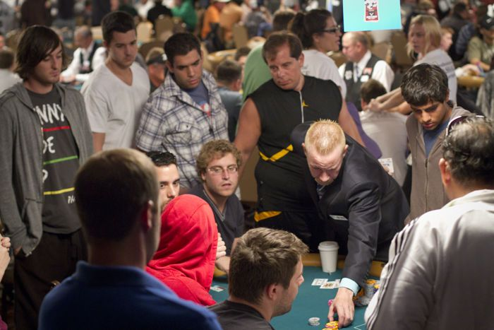 Three Great Live Reported Hands: Pepper Spray at the WSOP 103