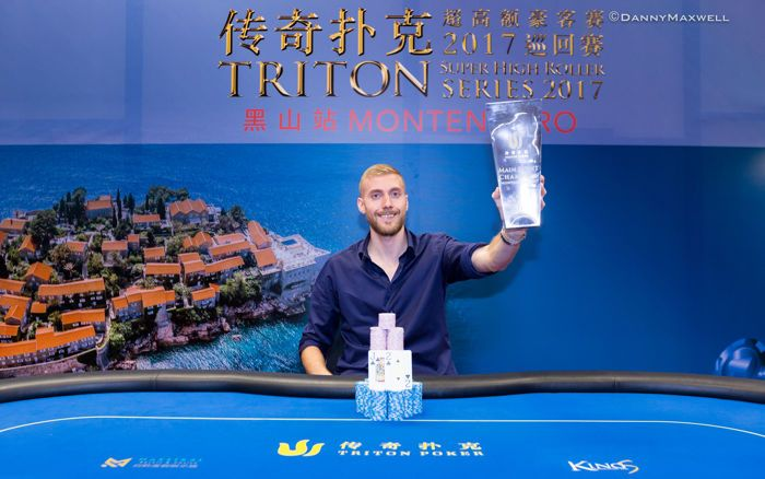 Manig Loeser - 2017 Triton Poker Super High Roller Series Montenegro Winner