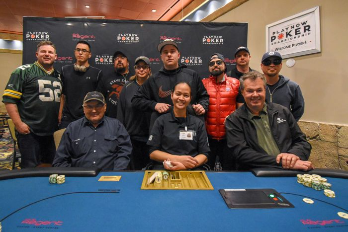 2018 Spring PlayNow Poker Championship $400 event final table
