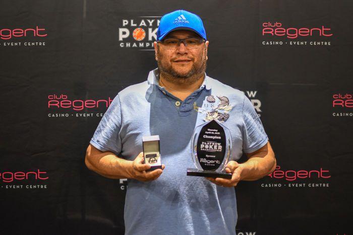 Marcel Pruden PlayNow Poker Championship Club Regent Casino