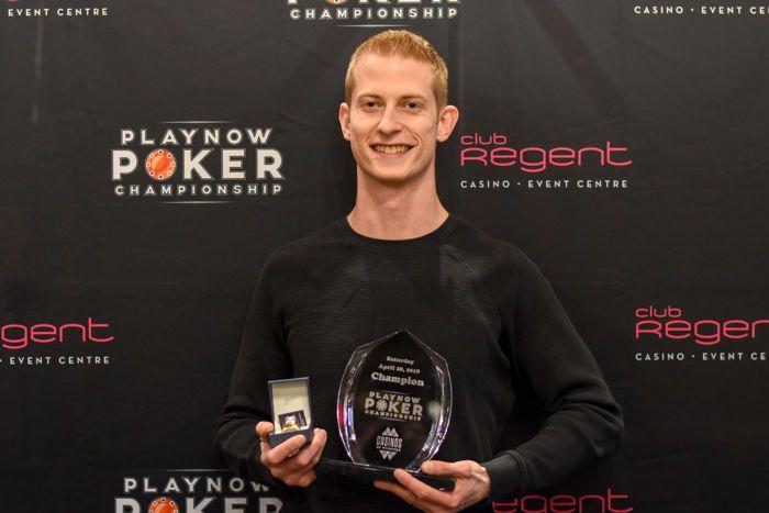Shaner Yo PlayNow Poker Championship PNPC Club Regent Casino